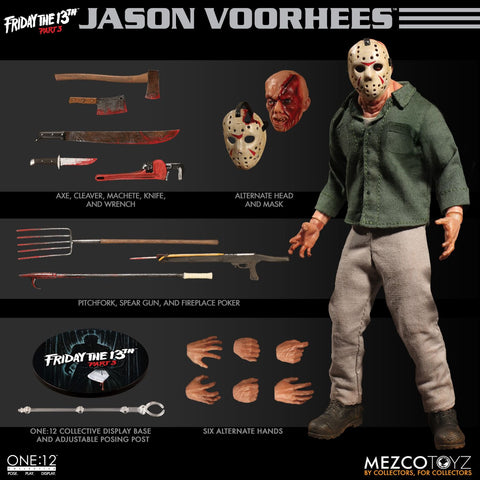 Mezco One:12 Collective Jason Friday the 13th Pt 3