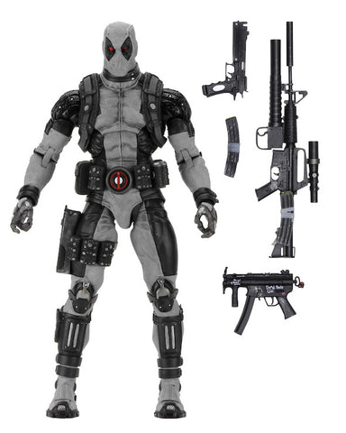 "NECA Marvel Classics 18"" Deadpool (X-Force) ¼ Scale Figure"