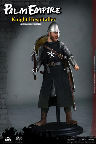 In Stock - Palm Empire (Hospitaller Knight) 1/12 Scale Figure