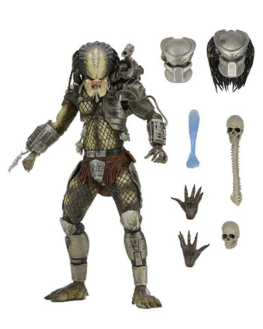 "NECA Ultimate Jungle Hunter Predator - 7"" Scale Figure"