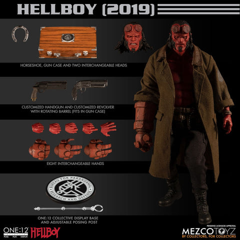 Pre-Order - Mezco Hellboy (2019) Movie Figure