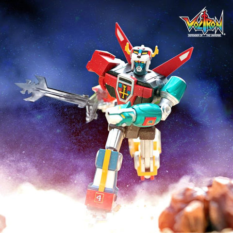 Super7 Voltron Ultimates Toy Deco 6-Inch Action Figure