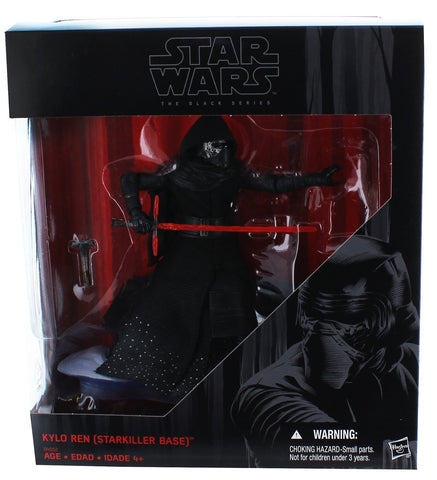 Star Wars Black Series 6 Inch Kylo Ren Starkiller Base Kmart Exclusive