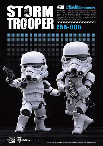 Star Wars Egg Attack Action - EAA-005 Stormtrooper (single figure)