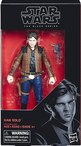 IN STOCK! Star Wars Black Series Han Solo (2018)