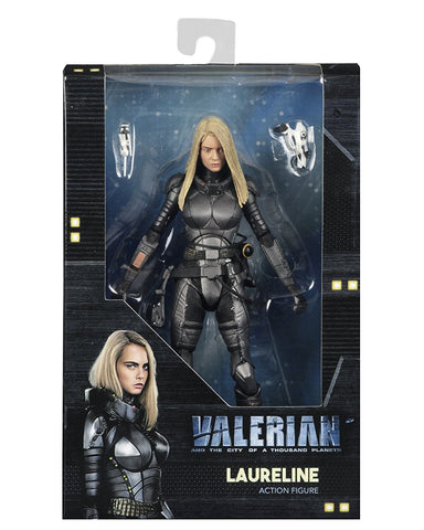 "NECA Valerian -  Laureline 7"" Action Figure"