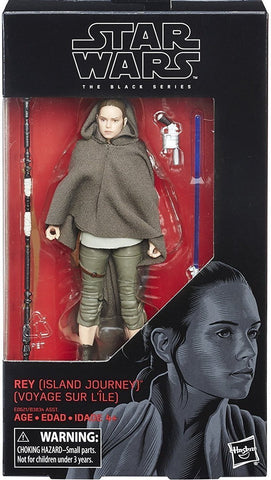 Black Series Rey (Island Journey) TLJ