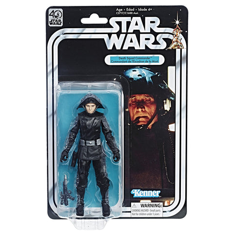 In Stock! Star Wars Black Series 40th - Death Squad Commander 6-Inch Figure