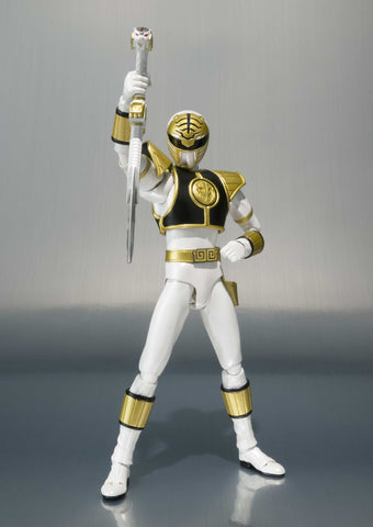 "SH Figuarts White Ranger ""Mighty Morphin Power Rangers"""