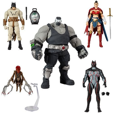 IDC Multiverse Collector Wave 3 Last Knight on Earth (4 Figure Set)