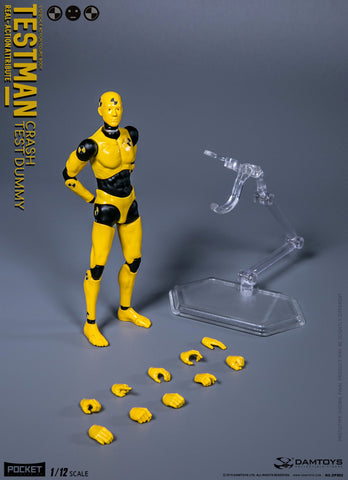 "DAMTOYS 1/12 ""TESTMAN"" DPS02 Action Figure"