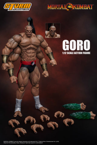 "Pre-Order - Goro ""Mortal Kombat"" Storm Collectibles 1:12 Action Figure"