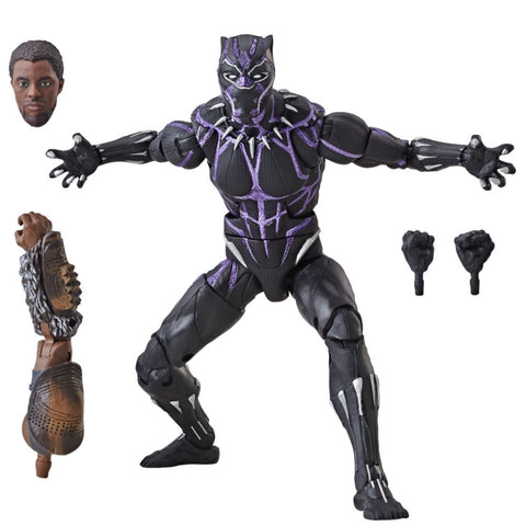 Marvel Legends Vibranium Black Panther 6-Inch Figure