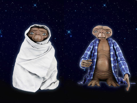 E.T. – 7″ Scale Action Figure – Series 2 Assortment (2 pack)