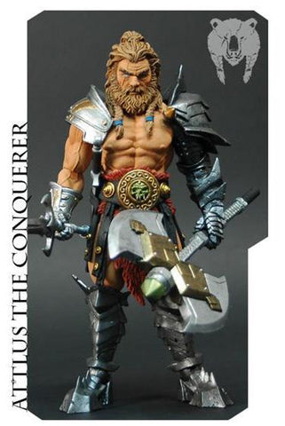 PRE-ORDER - Mythic Legions All Stars: Attlus the Conquerer