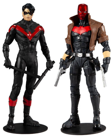 "McFarlane Toys DC Multiverse Nightwing vs. Red Hood 7"" Action Figure 2 Pack"