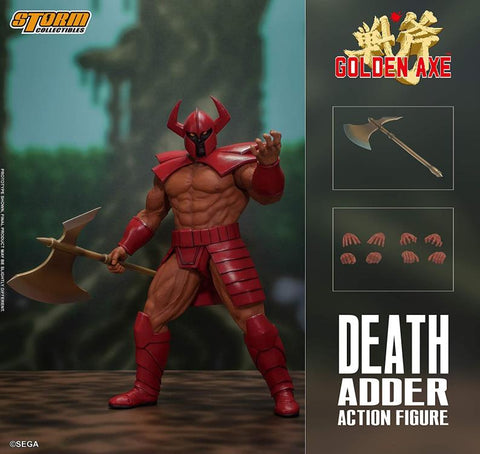 Pre-Order - Storm Collectibles Golden Axe Death Adder 1/12 Scale Figure