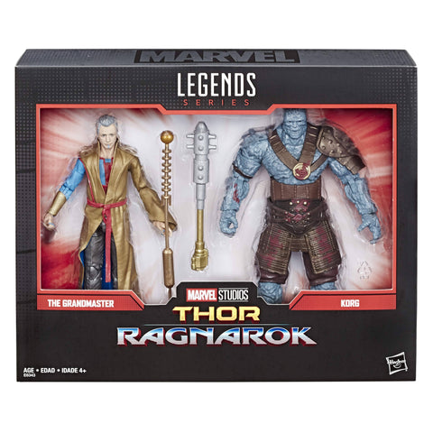 Pre-Order - Marvel Legends Grandmaster and Korg 6-Inch Action Figure Set