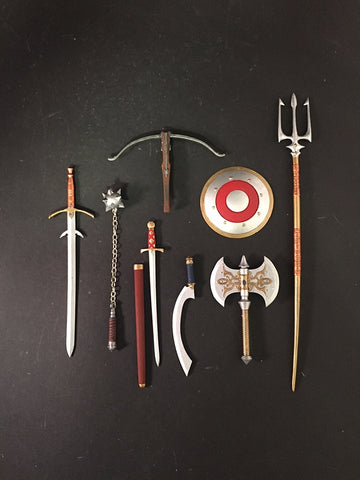 PRE-ORDER - Mythic Legions - Knight Weapons Pack