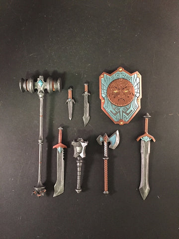 PRE-ORDER - Mythic Legions - Dwarf Weapons Pack