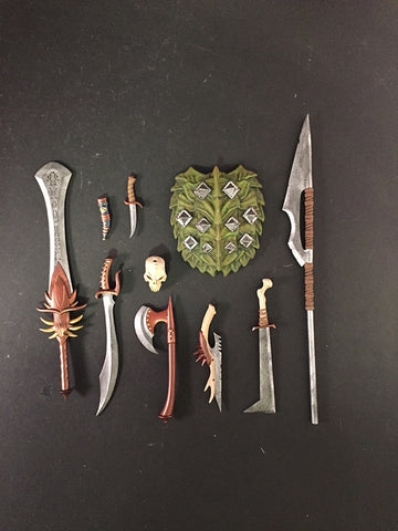 PRE-ORDER - Mythic Legions - Dark Forces Weapons Pack