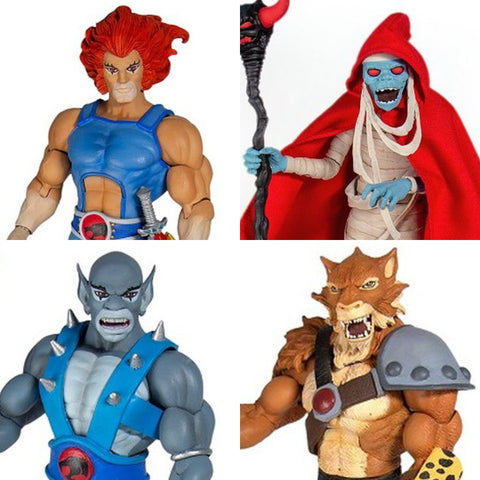 Pre-Order -  (4 Figure Set) Super7 Ultimate Thundercats 6-Inch Action Figures
