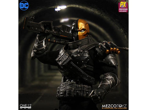 PRE-ORDER - Mezco One:12 Collective Stealth Deathstroke PX Previews Exclusive