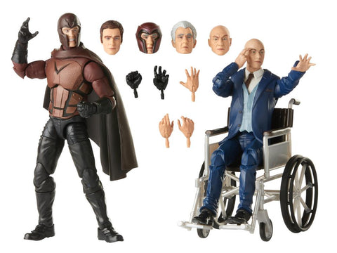 In Stock Next Week - X-Men Movie Marvel Legends Magneto & Professor X Two-Pack