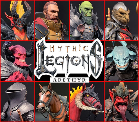 Pre-Order - Mythic Legions: Arethyr Wave ALL IN (10-Figure Set)