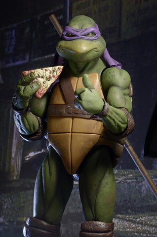 FREE SHIPPING - DONATELLO - NECA TMNT 1/4 Scale Figure