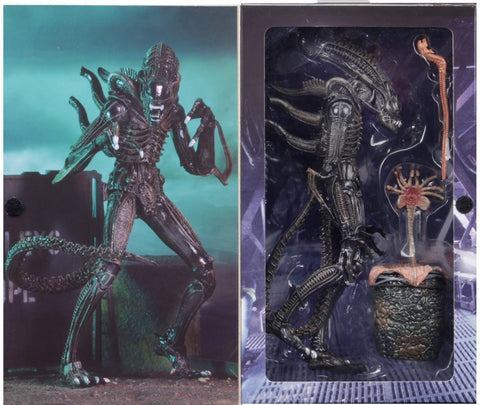 NECA Aliens Ultimate Warrior Xenomorph (Brown)
