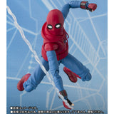 In Stock!  S.H.Figuarts SpiderMan Homemade Suit & Wall Set
