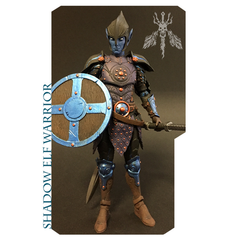 PRE-ORDER - Mythic Legions - Shadow Elf Warrior