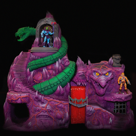 (Ships to USA only) Super7 Masters of the Universe Snake Mountain