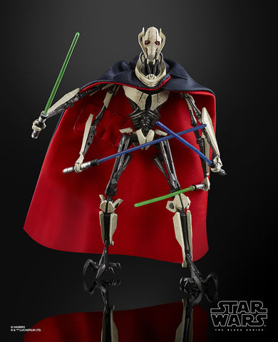 In Stock! Star Wars Black Series General Grievous 6-Inch Figure