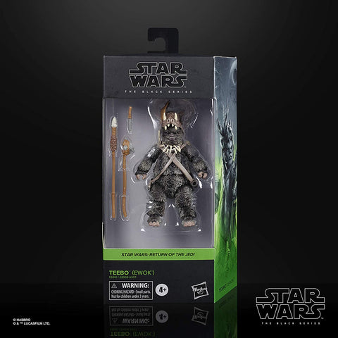 "Star Wars Black Series Teebo the Ewok 6"" Scale Action Figure"