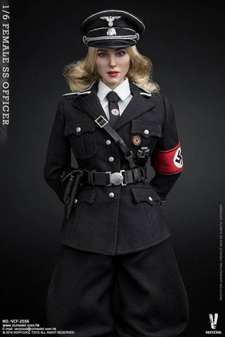 1/6 Scale Very Cool Female SS Officer Action Figure (VCF-2036)