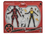 Pre-Order - X-Men Marvel Legends 20th Anniversary Deadpool & Negasonic Teenage Warhead