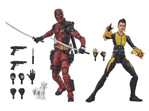 Shipping next week! X-Men Marvel Legends 20th Anniversary Deadpool & Negasonic Teenage Warhead