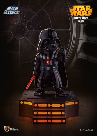 Non-posable figure - Star Wars Egg Attack - EA-010 Darth Vader w/ Light up Base