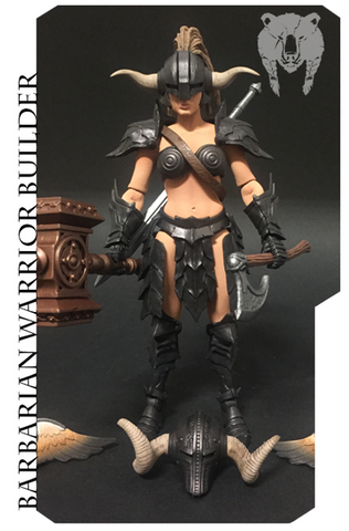Mythic Legions - Female Barbarian Warrior Builder