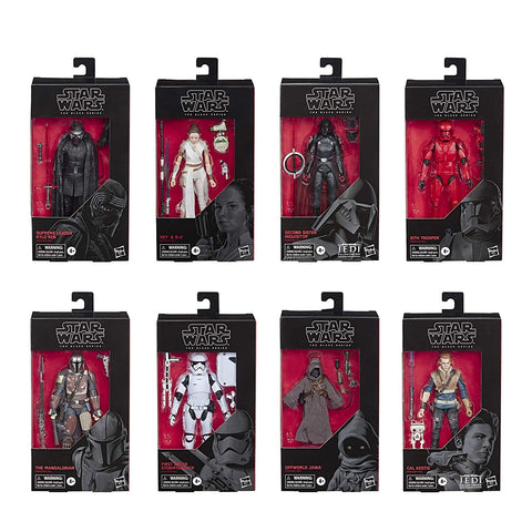 FREE SHIPPING! Star Wars Black Series Wave 33 (8-Figure Set)