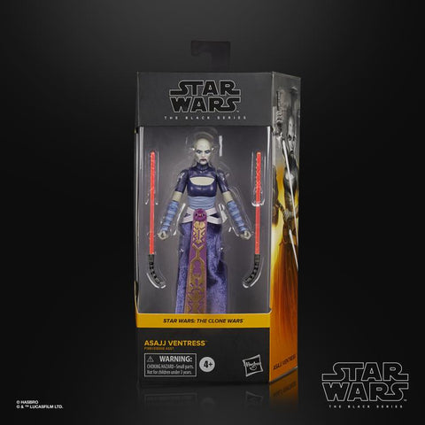 Pre-Order - Star Wars Black Series Asajj Ventress 6-Inch Figure