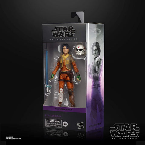 Star Wars Black Series Rebels - Ezra 6-inch figure