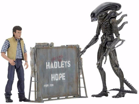 NECA Aliens - Hadley's Hope 2 Pack Set (7-Inch Scale Figures)