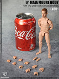 Pre-Order - Crazy Figure LT001 1/12 Scale Multi Joint Movable Figure (For heads without neck)