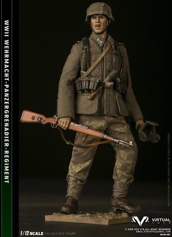 Pre-Order - 1/12 POCKET ELITE SERIES  WWII Wehrmacht Panzergrgrenadier Regiment
