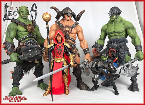 Pre-Order Mythic Legions Siege At Bjorngar - ALL IN 5-Figure Set
