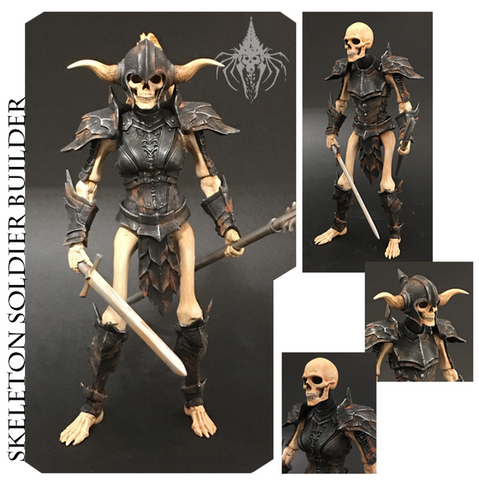 Mythic Legions - Skeleton Soldier Builder