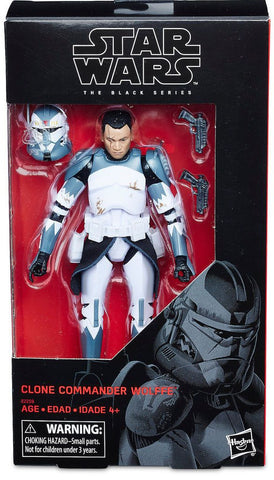 "(Non-mint box) Star Wars Black Series 6"" Clone Commander Wolffe Exclusive"